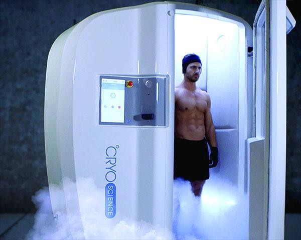 cabine cryothérapie corps entier cryo arctic appareil homme