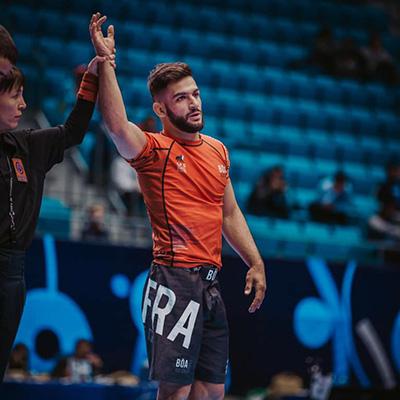 sportif professionnel de judo ju-jitsu anthony de oliveira ambassadeur cryorecup