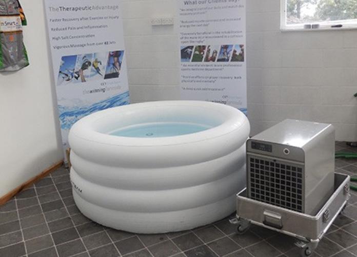 bain glacé de récupération portable gonflable
