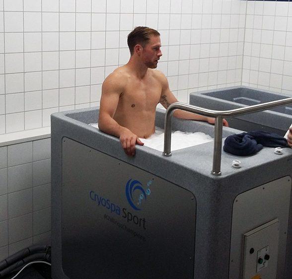 bain glacé deux places bain froid recuperation athlete