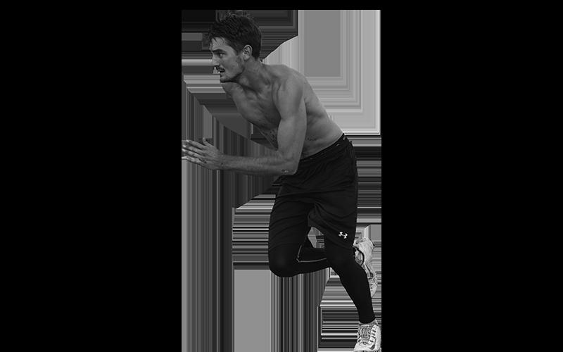 athlète récupération musculaire après effort performances nutrition hydratation homme