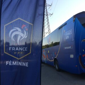 Coupe du monde 2019 football féminin cryorecup unité mobile