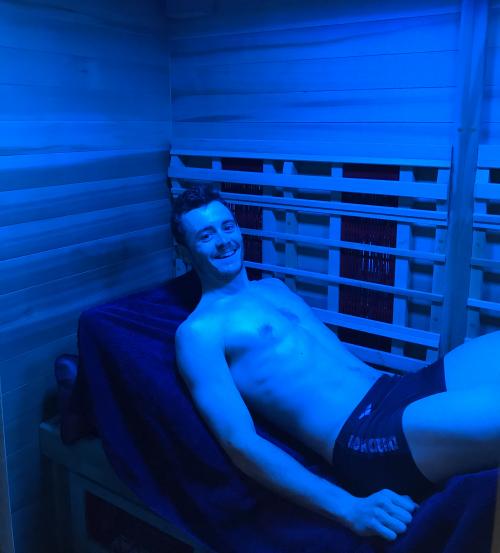 séance sauna infrarouge thomas boudat récupération sportive infrathérapie